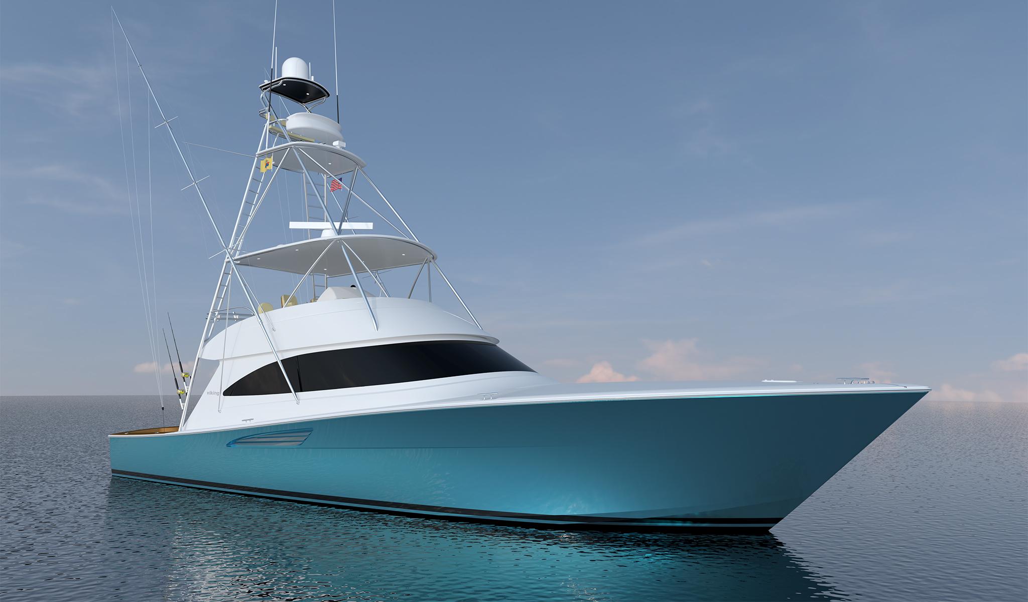 Viking Yachts 58 Convertible - 58C