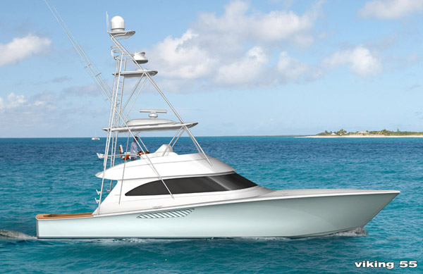 Check out the New Viking 55 Convertible.